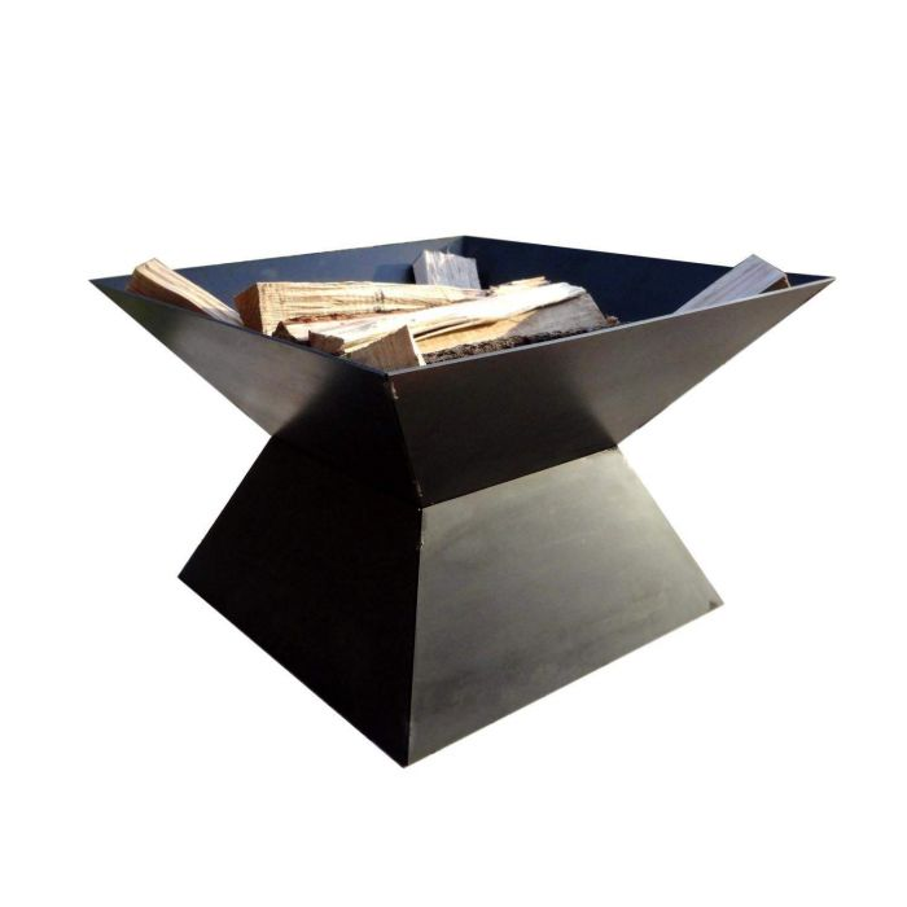 Cavo Design-Build Pyramid Fire Pit