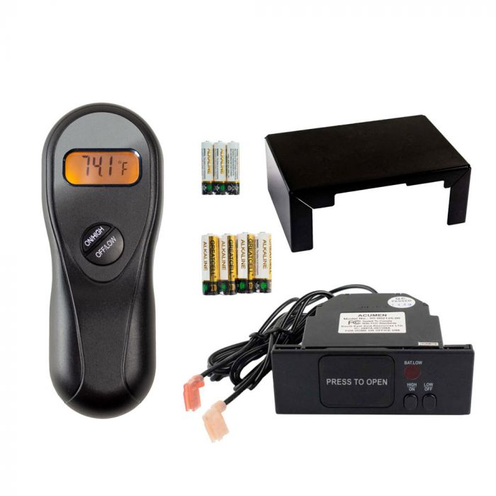 Acumen RCK-M Fireplace Remote Control with Flame Adjustment for Maxitrol Gas Valves