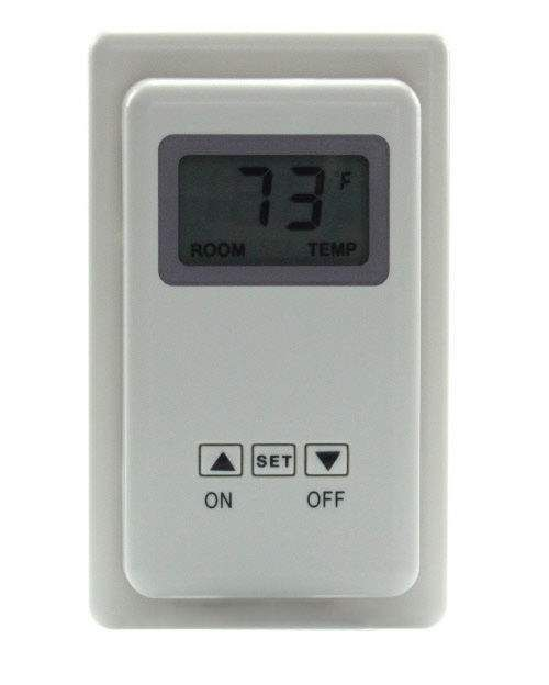 Skytech TS-3 Wired Wall Mounted Thermostat Fireplace Control - Front