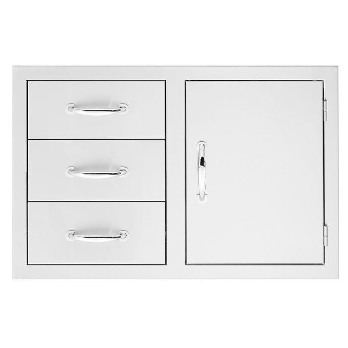 Summerset Door 3-Drawer Combo