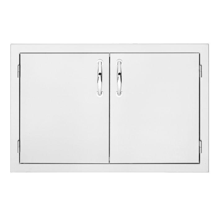Summerset Masonry Double Access Masonry Doors, 30 Inch