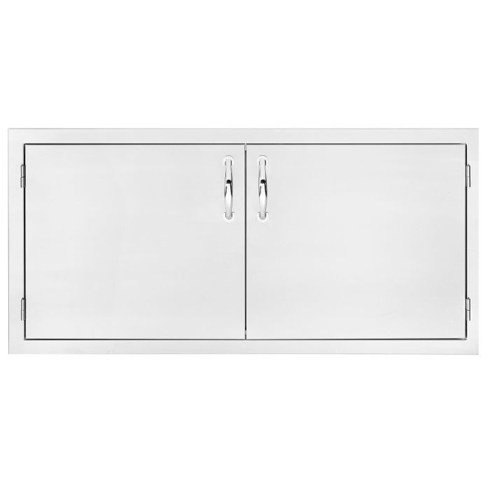 Summerset Masonry Double Access Masonry Doors, 42 Inch