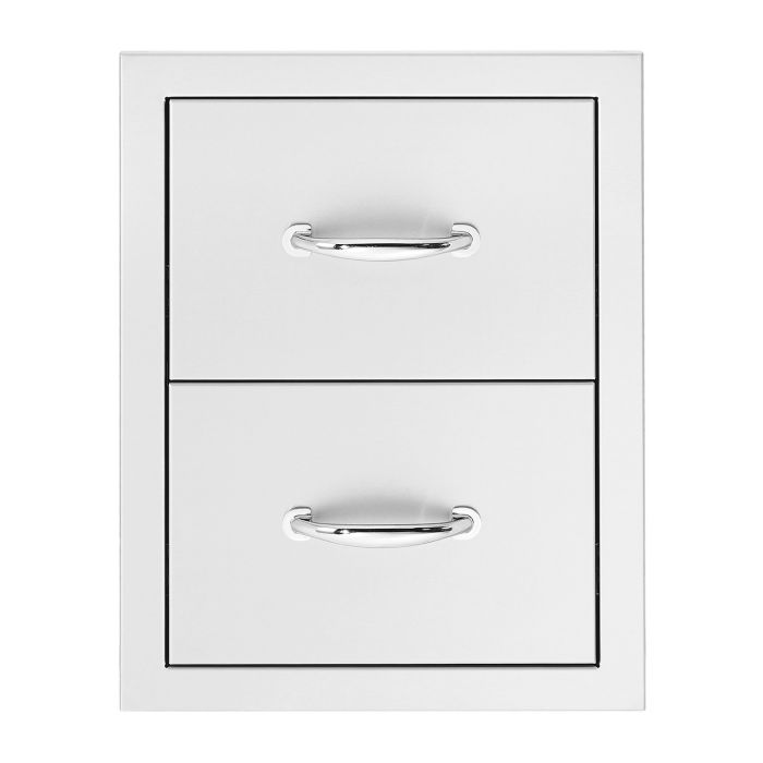 Summerset Masonry Double Drawers, Vertical
