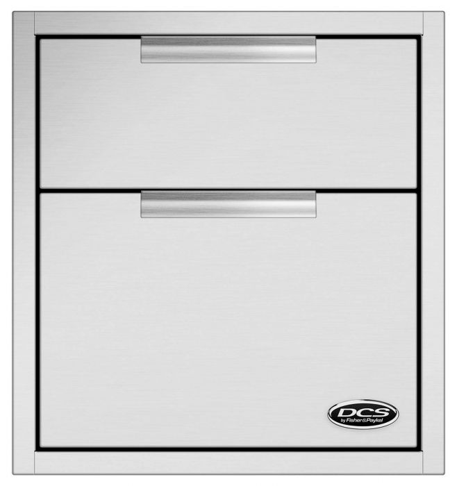 DCS Double Tower Drawer, 20-Inch