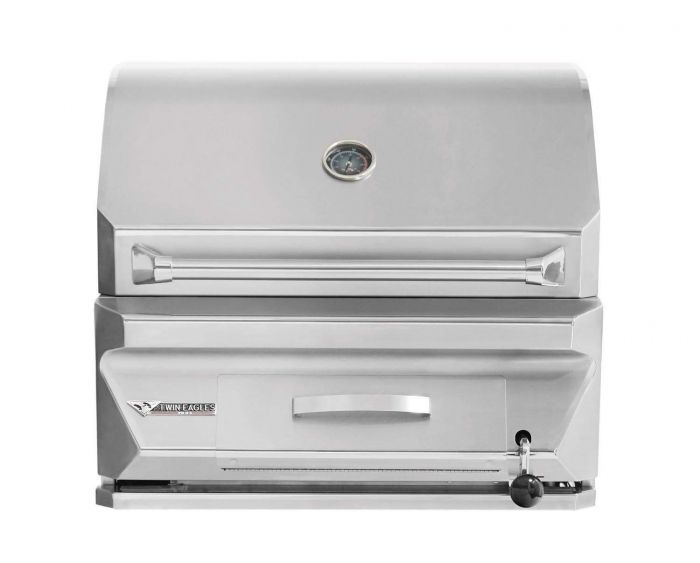 Twin Eagles 30 Inch Built-In Charcoal Grill