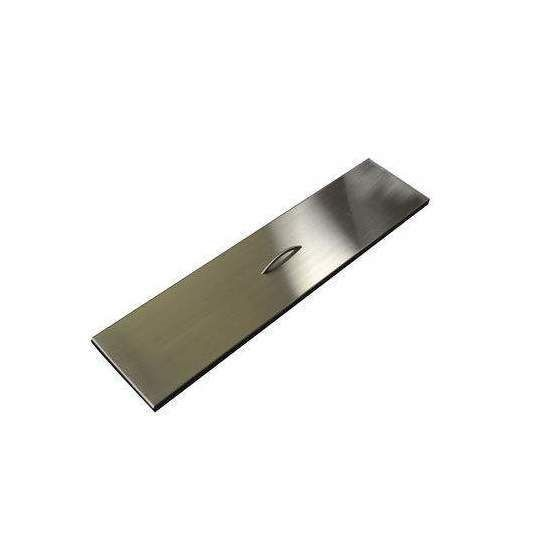 Hearth Products Controls Rectangular Stainless Steel Fire Pit Cover, 40x9.5 Inch