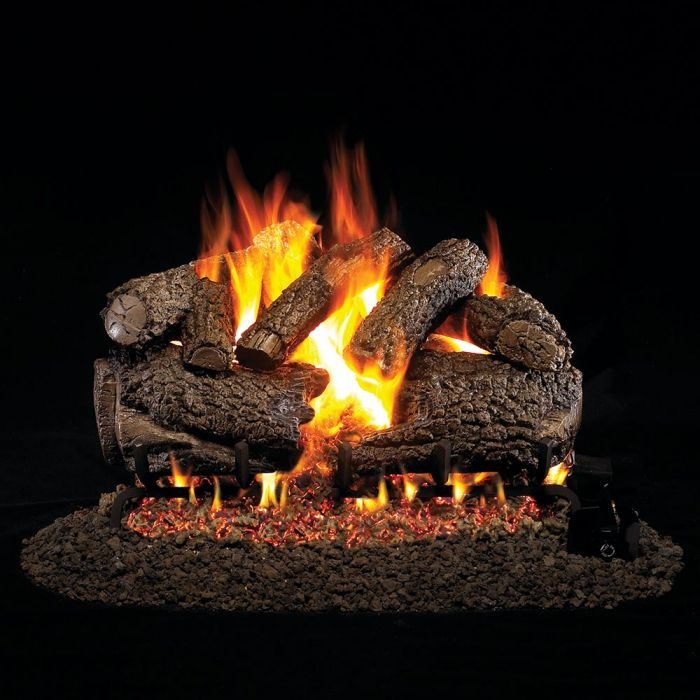 Real Fyre CHF Charred Forest Oak Vented Gas Logs