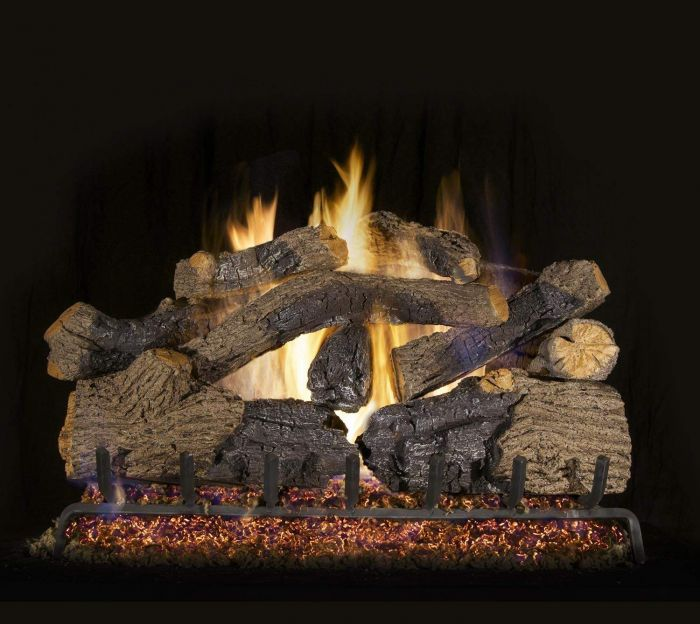 Real Fyre CHGO Charred Grizzly Oak Vented Gas Log Set