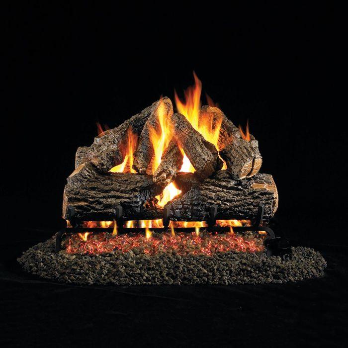 Real Fyre CHD Charred Oak Vented Gas Logs