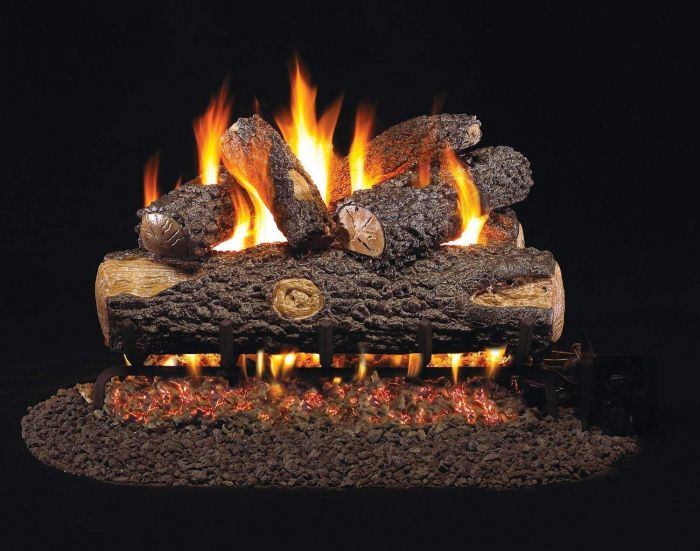 Real Fyre WO Woodland Oak Vented Gas Log Set
