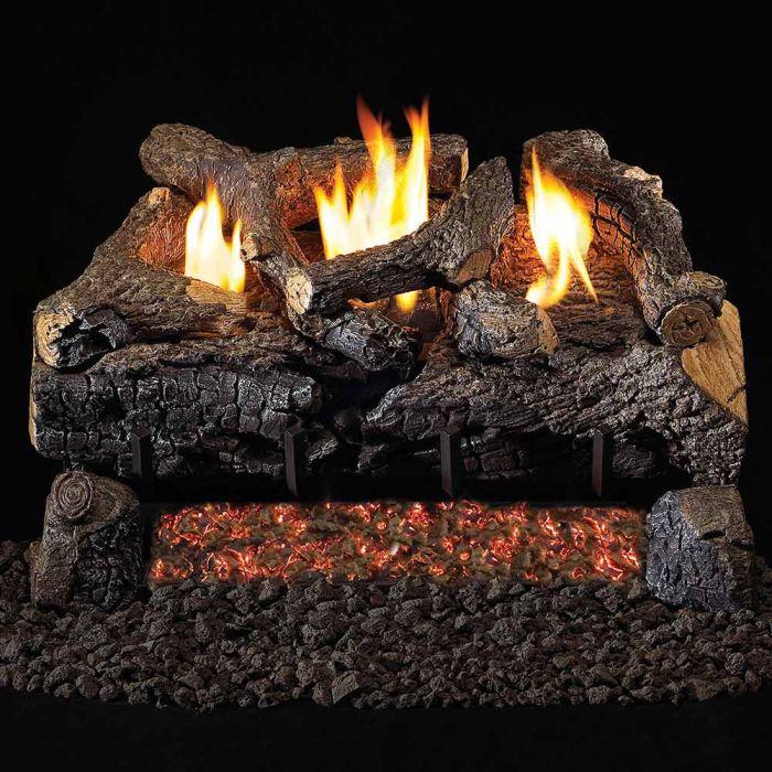 Real Fyre ECV Vent Free Gas Log Set