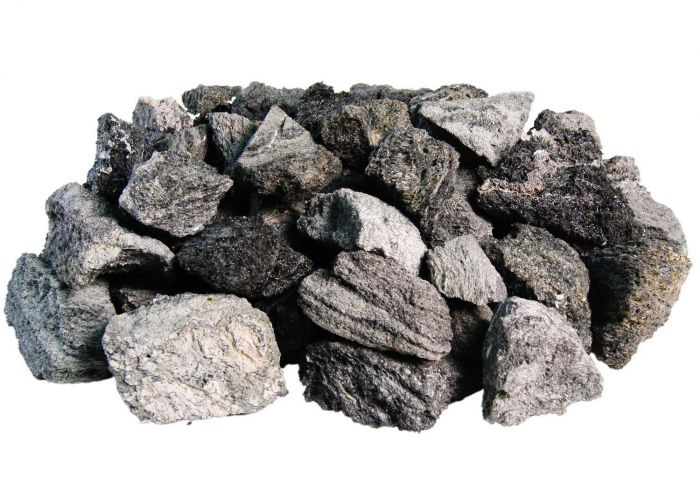 Real Fyre VS-25 Assorted Lava Fyre Volcanic Stones, 25 pounds
