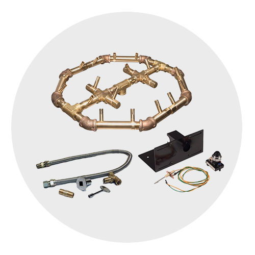 Spark Ignition Fire Pit Kits